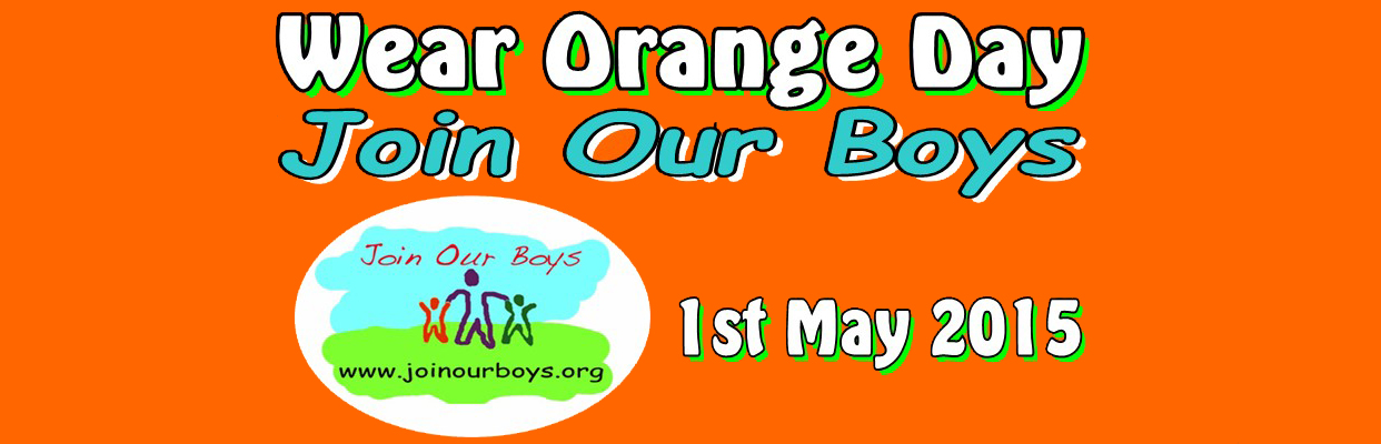 Wear Orange day this May 1st