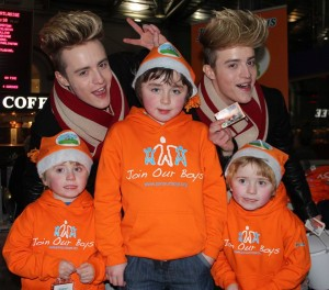 Jedward & Boys 2015 Hueston