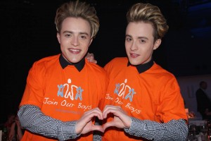 Jedward Pride of Ireland